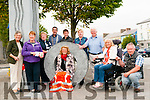 Listowel Tidy Towns: Members of the Listowel Tidy Towns committee who have been invited to the final in Dublin on September 28th next pictured in the Square. L- R : Bridget Neville, Mary O'Hanlon. Breda McGrath, Mayor Jimmy Moloney, Damian O'Mahony, Imelda Murpphy, Kieran Moloney, Jackie .....<br /> &amp; Peter O'Sullivan. In Front : Joan Byrne.