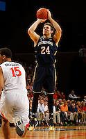 Notre Dame guard Demetrius Jackson (23) during the game Saturday, February 22, 2014,  in Charlottesville, VA. Virginia won 70-49.