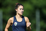 CARY, NC - AUGUST 17: Samantha Witteman. The North Carolina Courage held a training session on August 17, 2017, at WakeMed Soccer Park Field 3 in Cary, NC.