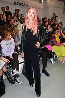 Lady Mary Charteris<br /> at the Ashley Williams catwalk show as part of London Fashion Week SS17, Brewer Street Carpark, Soho London<br /> <br /> <br /> ©Ash Knotek  D3155  16/09/2016