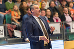 10.03.2019, RASTA Dome 2.0, VECHTA, GER, easycredit-bbl, RASTA Vechta vs  FC Bayern M&uuml;nchen, im Bild<br /> <br /> Velibor Radović / Radovic (Trainer Bayern Muenchen BBL)<br /> Gestik, Mimik,<br /> entt&auml;uscht / enttaeuscht / traurig /<br /> <br /> Foto &copy; nordphoto / Kokenge