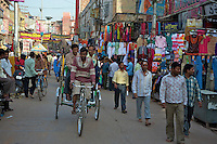 Street Secene in Varanasi India's holiest city.