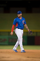 AZL Cubs 2 first baseman Tyler Alamo (3) during an Arizona League game against the AZL Rangers at Sloan Park on July 7, 2018 in Mesa, Arizona. AZL Rangers defeated AZL Cubs 2 11-2. (Zachary Lucy/Four Seam Images)