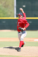 Ryan Chaffee - Los Angeles Angels - 2010 Instructional League.Photo by:  Bill Mitchell/Four Seam Images..