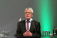 DFL-Vorsitzender Dr. Reinhard Rauball (BVB)<br /> Ausserordentlicher DFB Bundestag zum Schiedsrichterwesen *** Local Caption *** Foto ist honorarpflichtig! zzgl. gesetzl. MwSt. Auf Anfrage in hoeherer Qualitaet/Aufloesung. Belegexemplar an: Marc Schueler, Alte Weinstrasse 1, 61352 Bad Homburg, Tel. +49 (0) 151 11 65 49 88, www.gameday-mediaservices.de. Email: marc.schueler@gameday-mediaservices.de, Bankverbindung: Volksbank Bergstrasse, Kto.: 151297, BLZ: 50960101