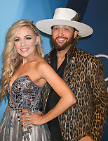 08 November 2017 - Nashville, Tennessee - Kaitlyn Lucas and Chris Lucas of LoCash. 51st Annual CMA Awards, Country Music's Biggest Night, held at Bridgestone Arena. <br /> CAP/ADM/LF<br /> &copy;LF/ADM/Capital Pictures