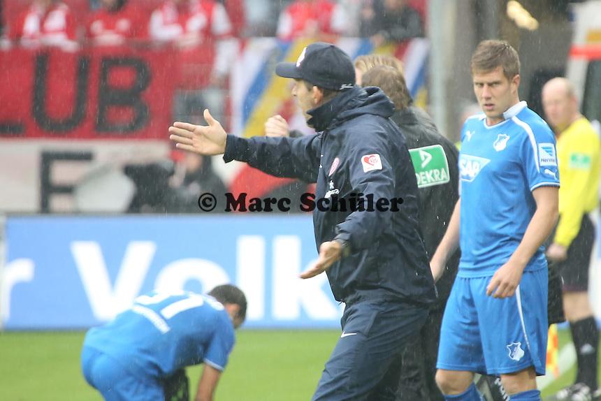 Trainer Thomas Tuchel (Mainz) regt sich auf - 1. FSV Mainz 05 vs. TSG 1899 Hoffenheim, Coface Arena, 8. Spieltag