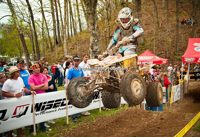 GNCC ATV race at Hurricane Mills TN 2009.