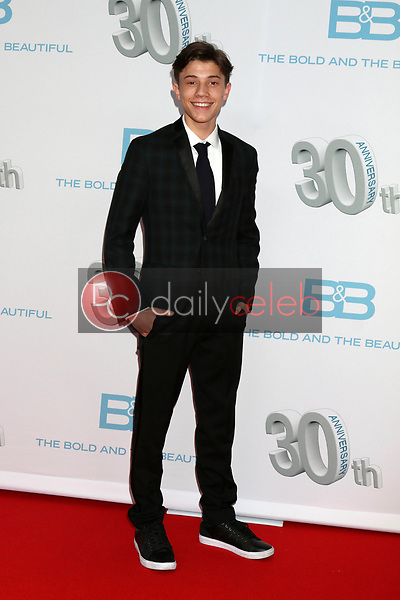 """Anthony Turpel<br /> at the """"The Bold and The Beautiful"""" 30th Anniversary Party, Clifton's Downtown, Los Angeles, CA 03-18-17<br /> David Edwards/DailyCeleb.com 818-249-4998"""