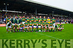 Kerry Team before the Munster Final at Fitzgerald Stadium, Killarney on Saturday evening.