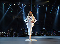 BANGKOK, THAILAND - DECEMBER 14: 2018 MISS UNIVERSE: Miss Ukraine, Karina Zhosan during rehearsals for the 2018 MISS UNIVERSE competition at the Impact Arena in Bangkok, Thailand on December 14, 2018. Miss Universe will air live on Sunday, Dec. 16 (7:00-10:00 PM ET live/PT tape-delayed) on FOX.  (Photo by Frank Micelotta/FOX/PictureGroup)