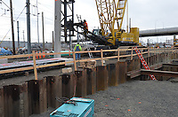 Work Progress March 2012 | New Haven Rail Yard New Independent Wheel True Facility