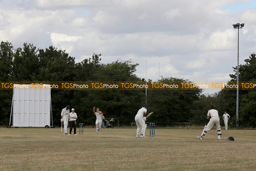General view of play during Goresbrook CC vs Upminster CC (batting), Essex Cricket League at May & Baker Sports Club on 1st August 2020
