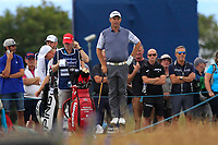 Padraig Harrington (IRL) stands on the tee-marker to get a better view on the 6th during Round 2 of the Aberdeen Standard Investments Scottish Open 2019 at The Renaissance Club, North Berwick, Scotland on Friday 12th July 2019.<br /> Picture:  Thos Caffrey / Golffile<br /> <br /> All photos usage must carry mandatory copyright credit (© Golffile | Thos Caffrey)