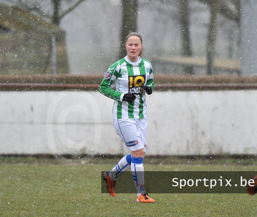 Club Brugge Dames - PEC Zwolle : Nathalja Nijman .foto DAVID CATRY / Vrouwenteam.be