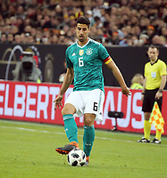 DFB Deutschland - Spanien Deutschland, Düsseldorf, 23.03.2018, Fussball, FIFA Länderspiel, DFB Deutschland - Spanien (1:1): Sami Khedira (Deutschland). *** DFB Germany Spain Germany Dusseldorf 23 03 2018 Football FIFA International Friendlies DFB Germany Spain 1 1 Sami Khedira Germany   <br /> Foto Insidefoto