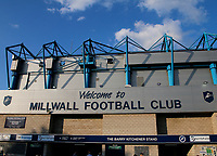 A general view of the Den as the sun sets during the Sky Bet Championship match between Millwall and Ipswich Town at The Den, London, England on 15 August 2017. Photo by Carlton Myrie.