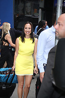 NEW YORK, NY-September 07: Cheryl Burke at The Stars of Dancing with Stars Season 23 revealed at GMA in New York. NY September 07, 2016. Credit:RW/MediaPunch