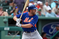 New York Mets infielder Eric Campbell (29) during a Spring Training game against the Boston Red Sox on March 16, 2015 at JetBlue Park at Fenway South in Fort Myers, Florida.  Boston defeated New York 4-3.  (Mike Janes/Four Seam Images)