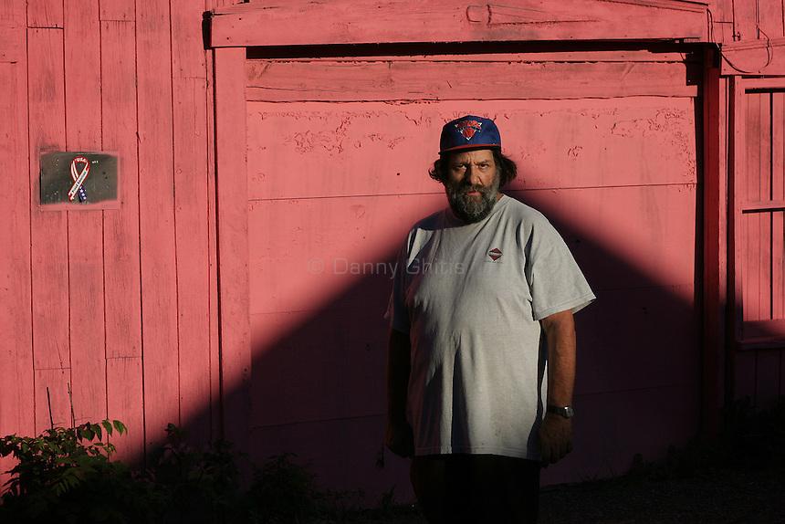Pink House man