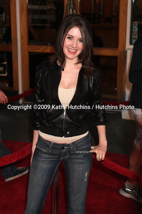 Alison Brie  arriving at the Fast & Furious Premiere at  the Universal Ampitheater  in Los Angeles , CA on  March 12, 2009 .©2009 Kathy Hutchins / Hutchins Photo...                .