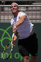 ADRIAN MANNARINO (FRA)<br /> <br /> Tennis - MIAMI OPEN 2015 - ATP 1000 - WTA Premier -  Crandon park Tennis Centre  - Miami - United States of America - 2015<br /> &copy; AMN IMAGES