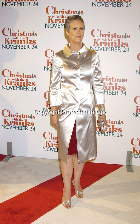 "Jamie Lee Curtis ..at the World Premiere of ""Christmas with the Kranks"" on ..November 15, 2004 at Radio City Music Hall...Photo by Robin Platzer, Twin Images"