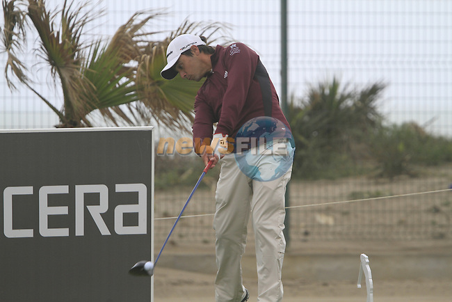 Rafa Echenique in action during the Pro-Am Wedensday of the Open de Andalucia de Golf at Parador Golf Club Malaga 23rd March 2011. (Photo Eoin Clarke/Golffile 2011)
