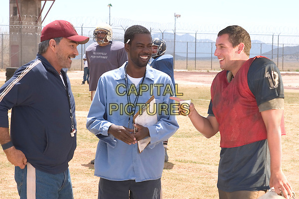BURT REYNOLDS, CHRIS ROCK & ADAM SANDLER.in The Longest Yard.Filmstill - Editorial Use Only.CAP/AWFF.www.capitalpictures.com.sales@capitalpictures.com.Supplied By Capital Pictures.