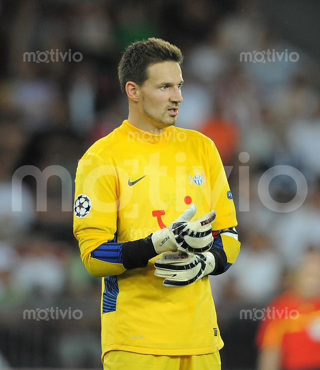 FUSSBALL   CHAMPIONS LEAGUE   SAISON 2011/2012  Qualifikation  23.08.2011 FC Zuerich - FC Bayern Muenchen Johnny Leoni (FC Zuerich)