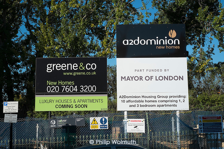 A2Dominion Housing Group & Mayor of London affordable housing scheme signs Camden