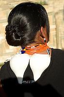 Naga Warrior tribe from Nagaland, India