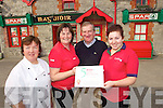 Maguire Spar Ardfert celebrate their Spar 5 star award from left: Lorraine O'Leary, Mary Fitzgerald, Mike McGuire and Eimear Kennelly