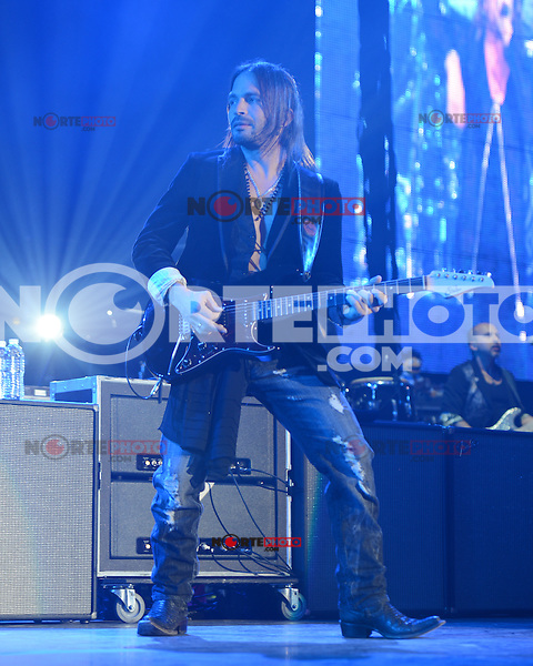 MIAMI, FL - MAY 11:  Sergio Valli.n of Mana performs at the AmericanAirlines Arena on May 11, 2012 in Miami Florida. ©mpi04/MediaPunch Inc