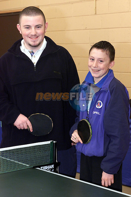 Gary O'Brien and Sean Boylan who took part in the Boys Grade 1 Final..Picture: Paul Mohan/Neswfile