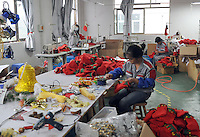 Christmas decorations and ornaments are made in a medium sized factory in Yi Wu, China.  Yi Wu exports 40-50 % of the entire European Christmas decorations and 70 % of US and Mexico's Christmas gifts come from Yi Wu.