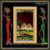 Kris, ETHNIC, paintings+++++,PLKKE428,#ethnic# Africa