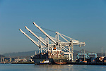 California: Container shipping at Port of Oakland. Photo copyright Lee Foster. Photo # casanf79035