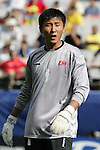 06 July 2007: North Korea's Kwang Min Ju. Argentina's Under-20 Men's National Team defeated North Korea's Under-20 Men's National Team 1-0 in a Group E opening round match at Frank Clair Stadium in Ottawa, Ontario, Canada during the FIFA U-20 World Cup Canada 2007 tournament.