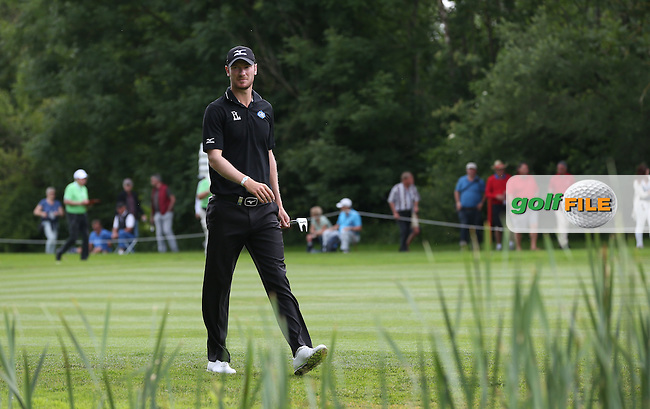 Chris Wood (ENG) heading to the 9th during Round One of the 2015 BMW International Open at Golfclub Munchen Eichenried, Eichenried, Munich, Germany. 25/06/2015. Picture David Lloyd | www.golffile.ie