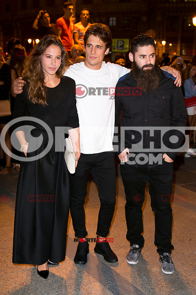 Irene Escolar and Martino Rivas attends the party of Nike and Roberto Tisci at the Casino in Madrid, Spain. September 15, 2014. (ALTERPHOTOS/Carlos Dafonte) /NortePhoto.com