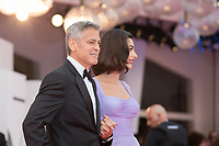 "George Clooney, Amal Clooney at the ""Suburbicon"" premiere, 74th Venice Film Festival in Italy on 2 September 2017.<br /> <br /> Photo: Kristina Afanasyeva/Featureflash/SilverHub<br /> 0208 004 5359<br /> sales@silverhubmedia.com"