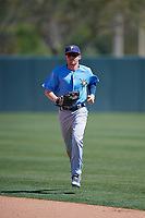Tampa Bay Rays Michael Smith (51) during a Minor League Spring Training game against the Minnesota Twins on March 15, 2018 at CenturyLink Sports Complex in Fort Myers, Florida.  (Mike Janes/Four Seam Images)