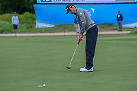 Rafael Cabrera Bello (ESP) barely misses his birdie putt on 16 during round 2 of the AT&T Byron Nelson, Trinity Forest Golf Club, Dallas, Texas, USA. 5/10/2019.<br /> Picture: Golffile | Ken Murray<br /> <br /> <br /> All photo usage must carry mandatory copyright credit (© Golffile | Ken Murray)