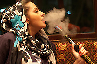 Smoking water-pipes (qalyoon as they are called in iran) is an age-old tradition with roots in Iran and India that has been enjoying a strong renewal among iranian youth.