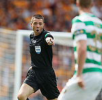 19.05.2018 Scottish Cup Final Celtic v Motherwell: ref Kevin Clancy