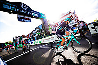 Picture by Alex Whitehead/SWpix.com - 10/05/2018 - Cycling - OVO Energy Tour Series Women's Race - Round 1: Redditch - Manon Lloyd of Trek Drops.