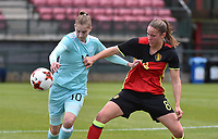 20171123 - TUBIZE , BELGIUM : Belgian Lenie Onzia (8) pictured during a friendly game between the women teams of the Belgian Red Flames and Russia at complex Euro 2000 in Tubize , Thursday  23 October 2017 ,  PHOTO Dirk Vuylsteke | Sportpix.Be