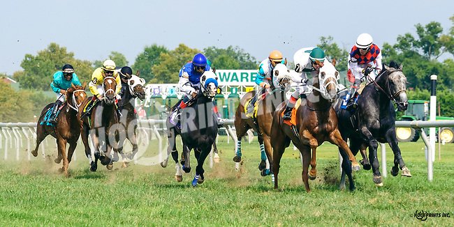 Cort'n Asong winning at Delaware Park on 9/8/16