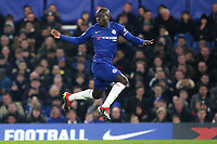 N'Golo Kante of Chelsea during Chelsea vs Newcastle United, Premier League Football at Stamford Bridge on 12th January 2019